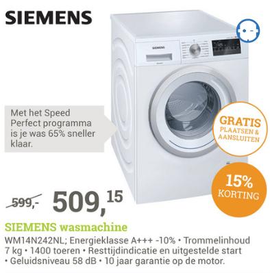 goedkope wasmachine aanbiedingen deals van 100 webwinkels. Black Bedroom Furniture Sets. Home Design Ideas